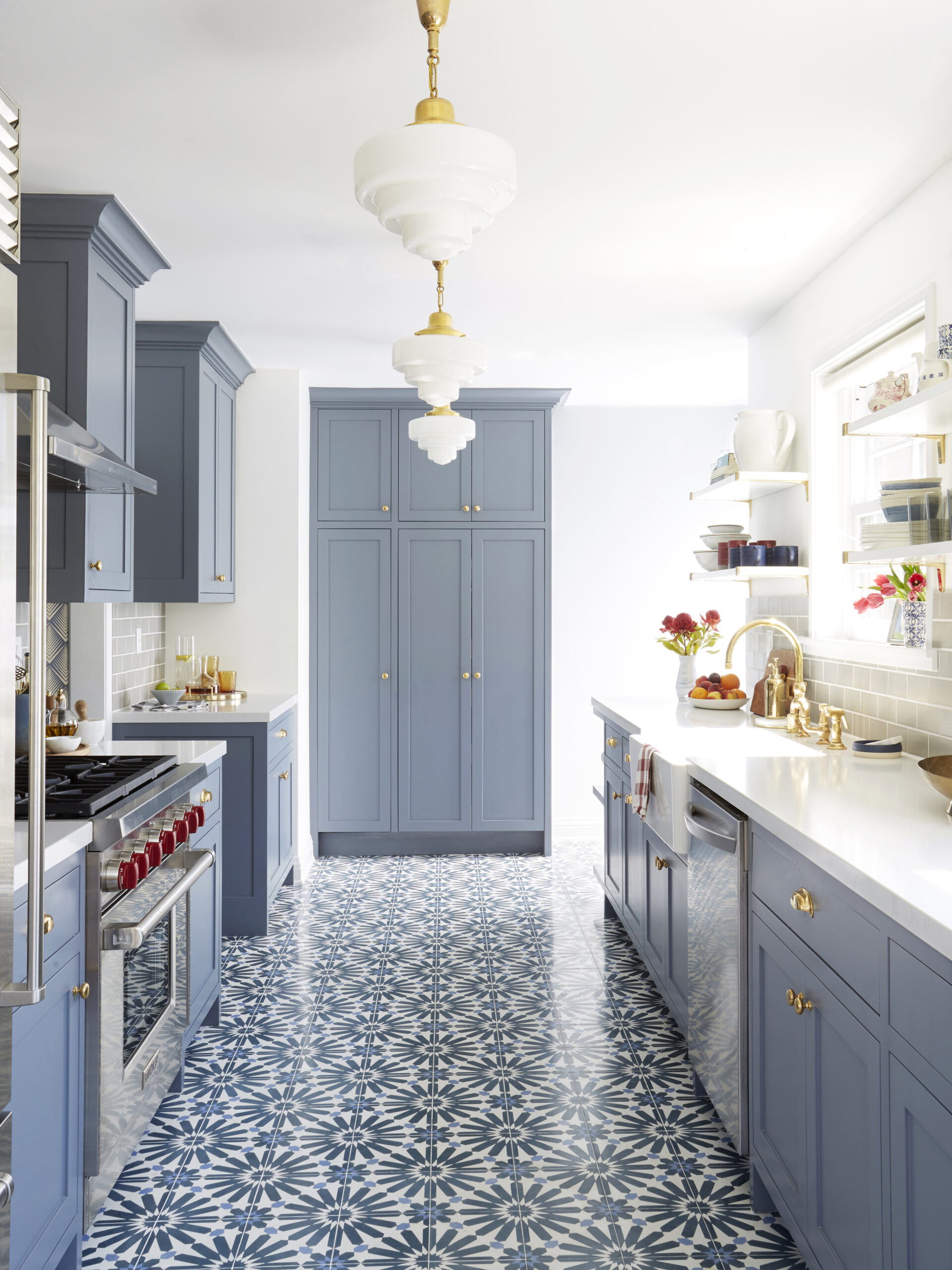 Ginny Macdonald Design Pattern Tile Kitchen Floor