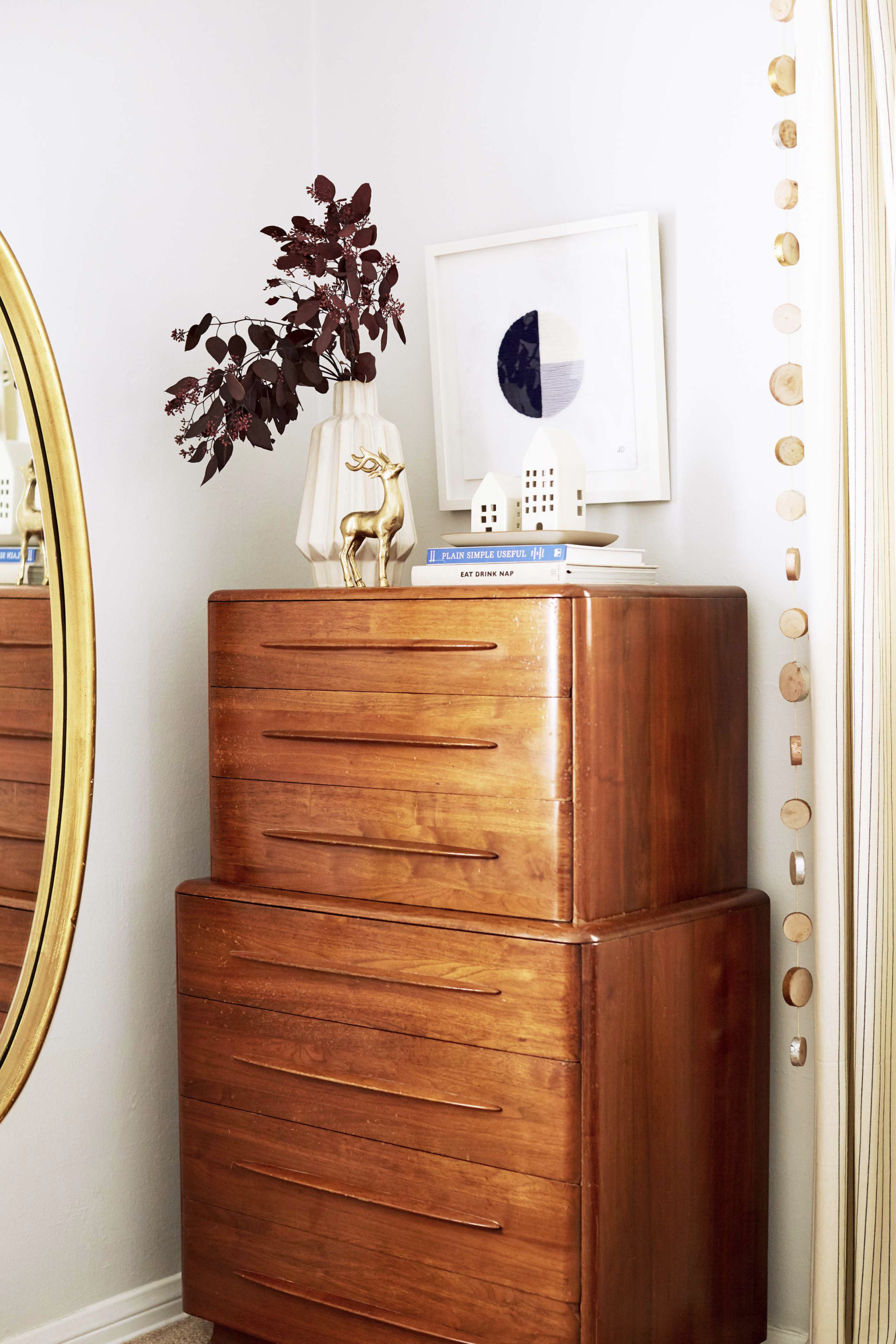 GINNY_MACDONALD_HOLIDAY_BEDROOM_TALLBOY_MID_CENTURY_WOOD_DRESSER