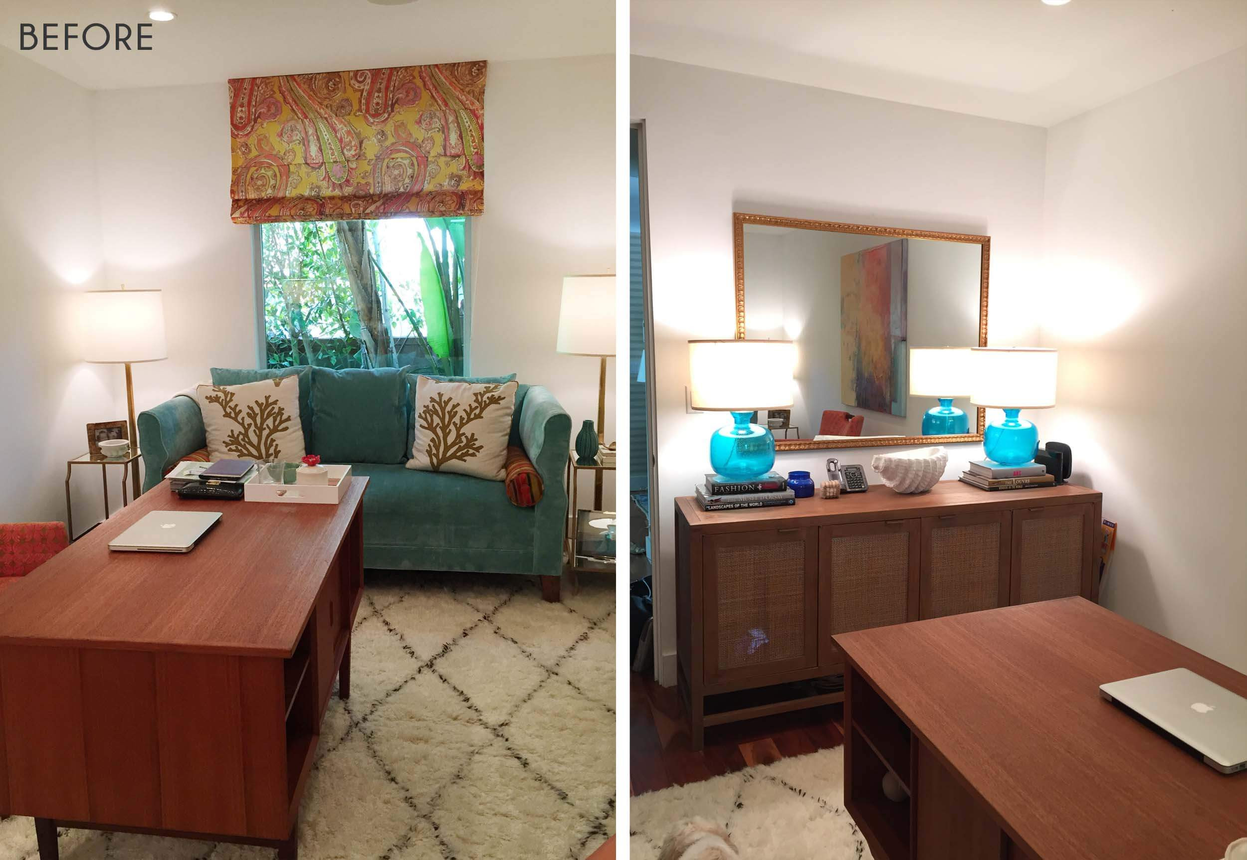 Exceptionnel Ginny_Macdonald_California_Mid_Century_Office_Before