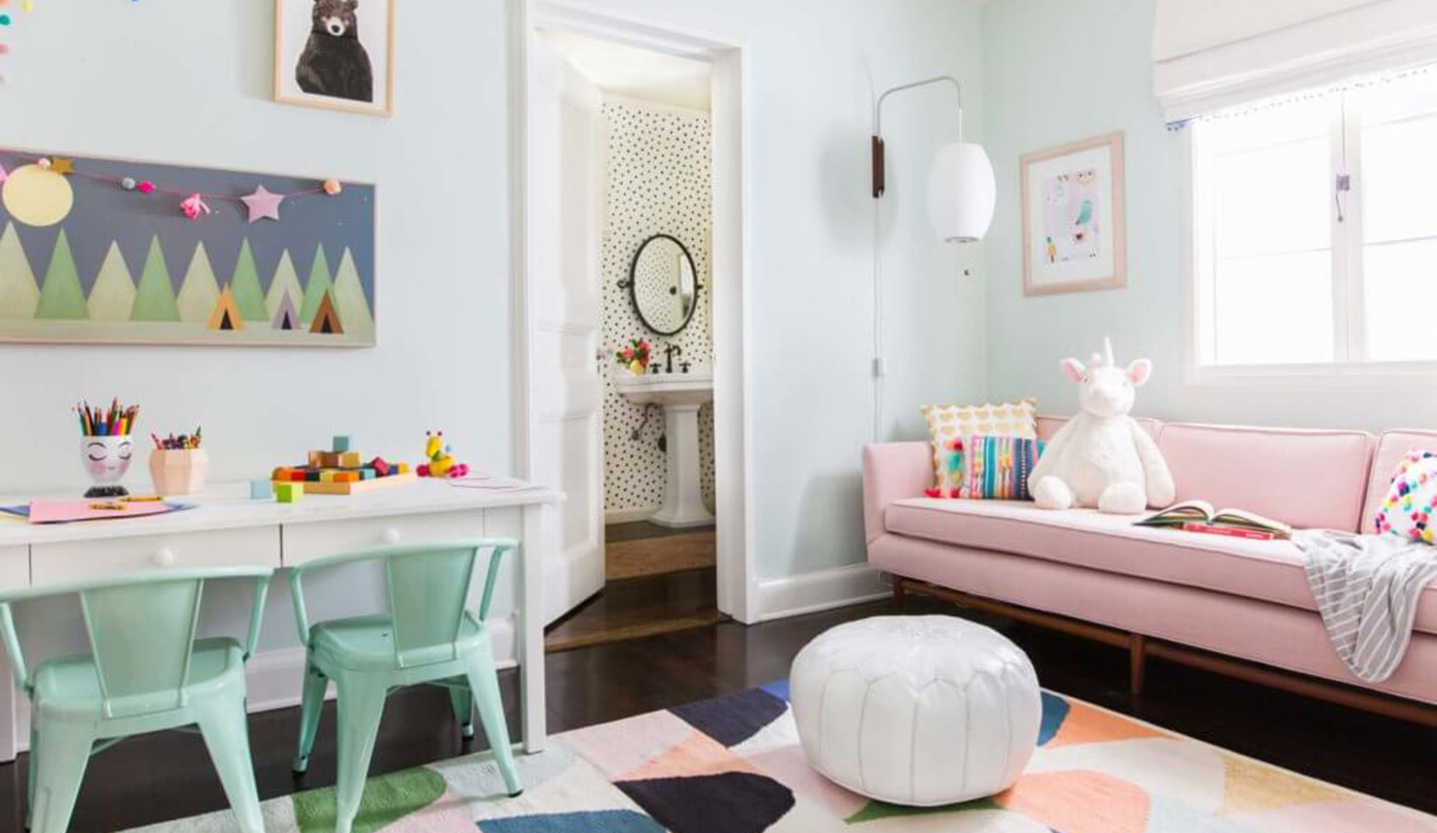 01_Ginny_Macdonald_Full-Design_Girls-Playroom_Whimsical_Pink_Playful_Featured Image_071718