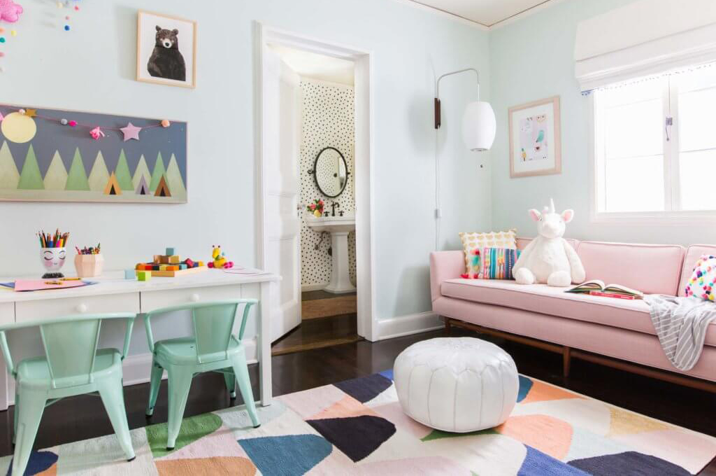 01_Ginny_Macdonald_Full-Design_Girls-Playroom_Whimsical_Pink_Playful_Featured Image
