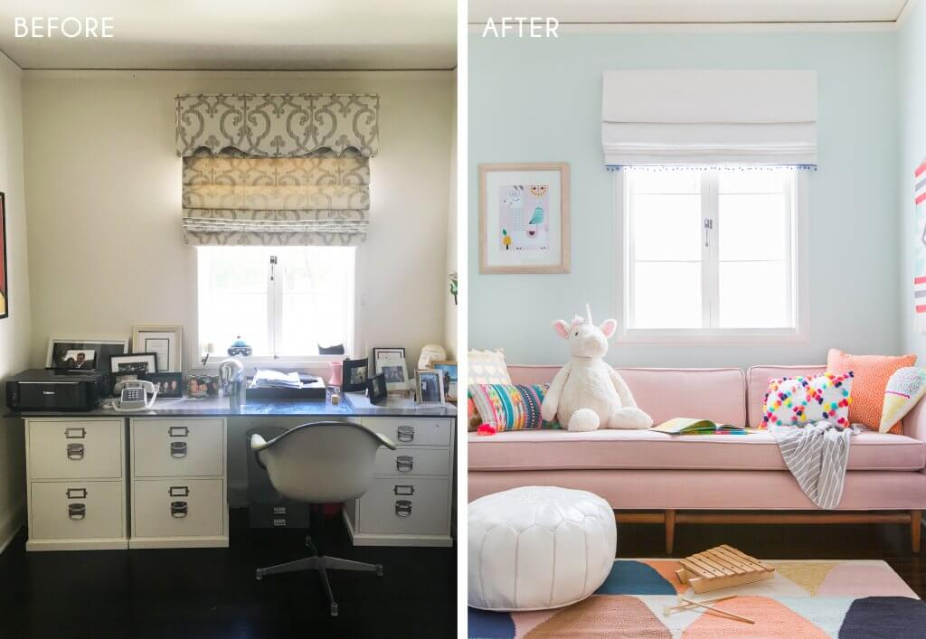 11_Playroom_Girls_Bright_Happy_Modern_Ginny_Macdonald_Before_Side-by-Side_After