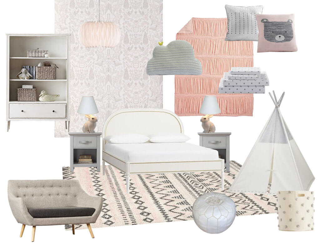 12_Ginny_Macdonald_Full-Design_Little-Girls-Room_Pink_Gray_moodboard
