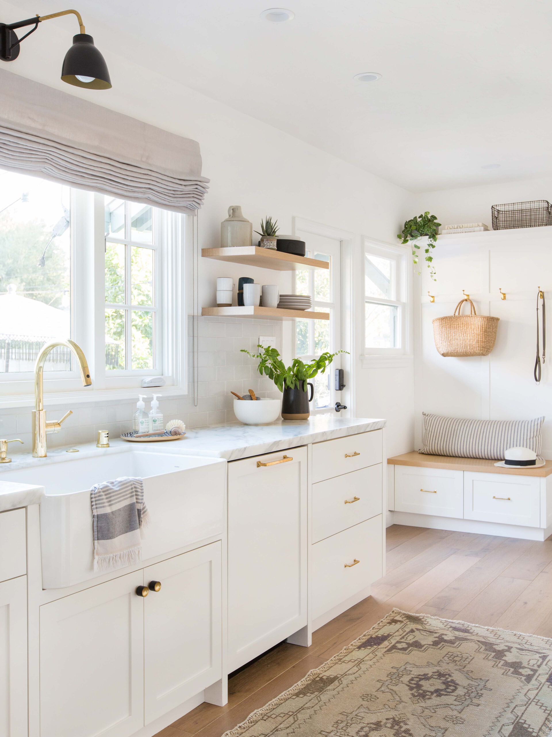 Ginny Macdonald Design White Dove Kitchen