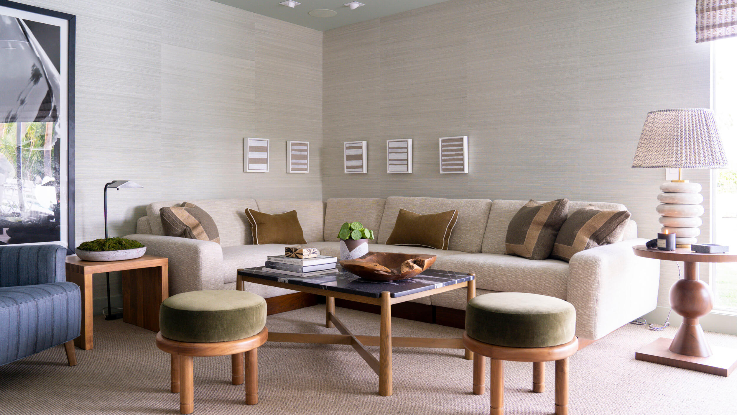 Christopher Kennedy Compound Brian Paquette Sectional
