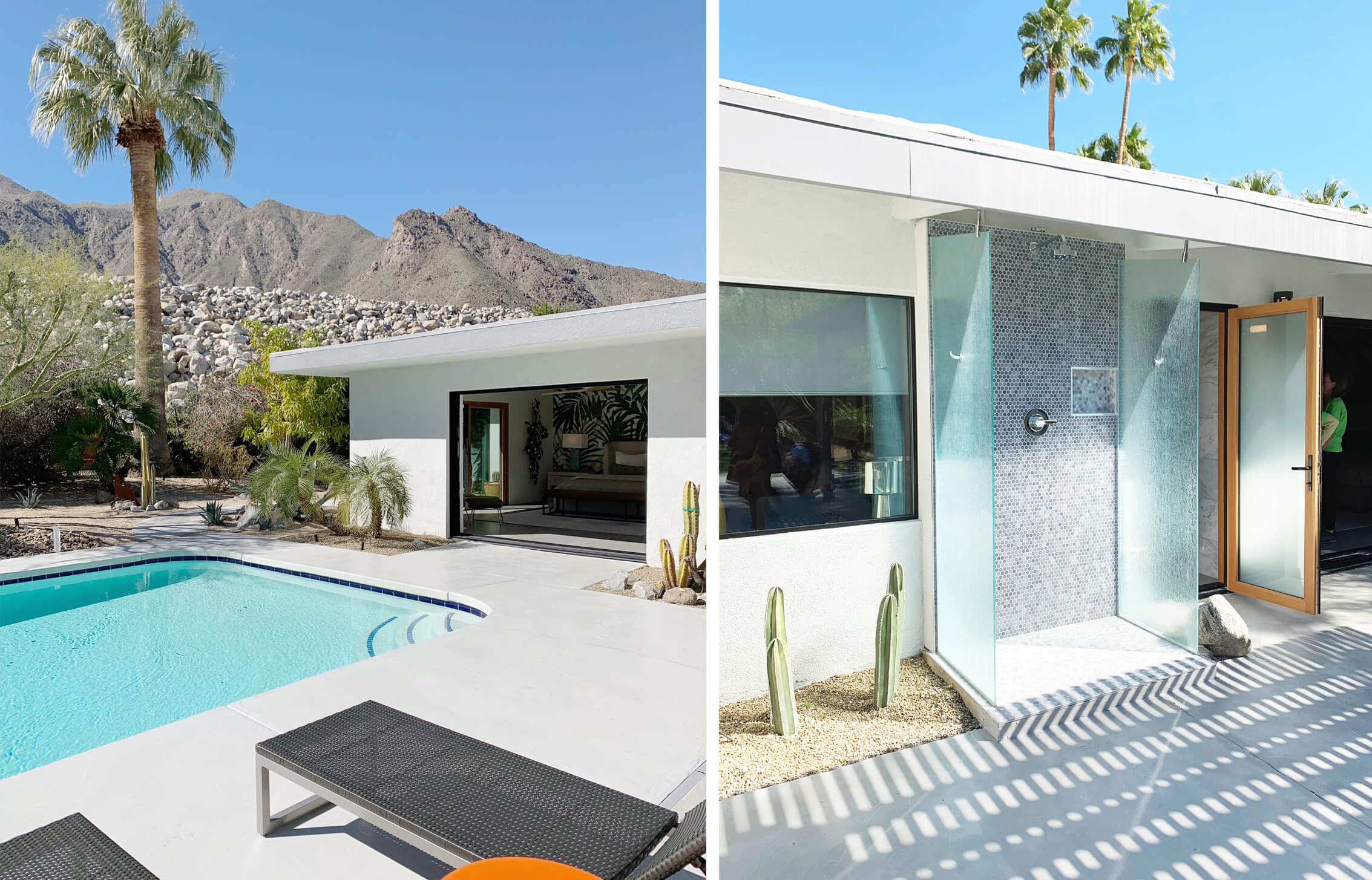 Palm Springs Outdoor Shower