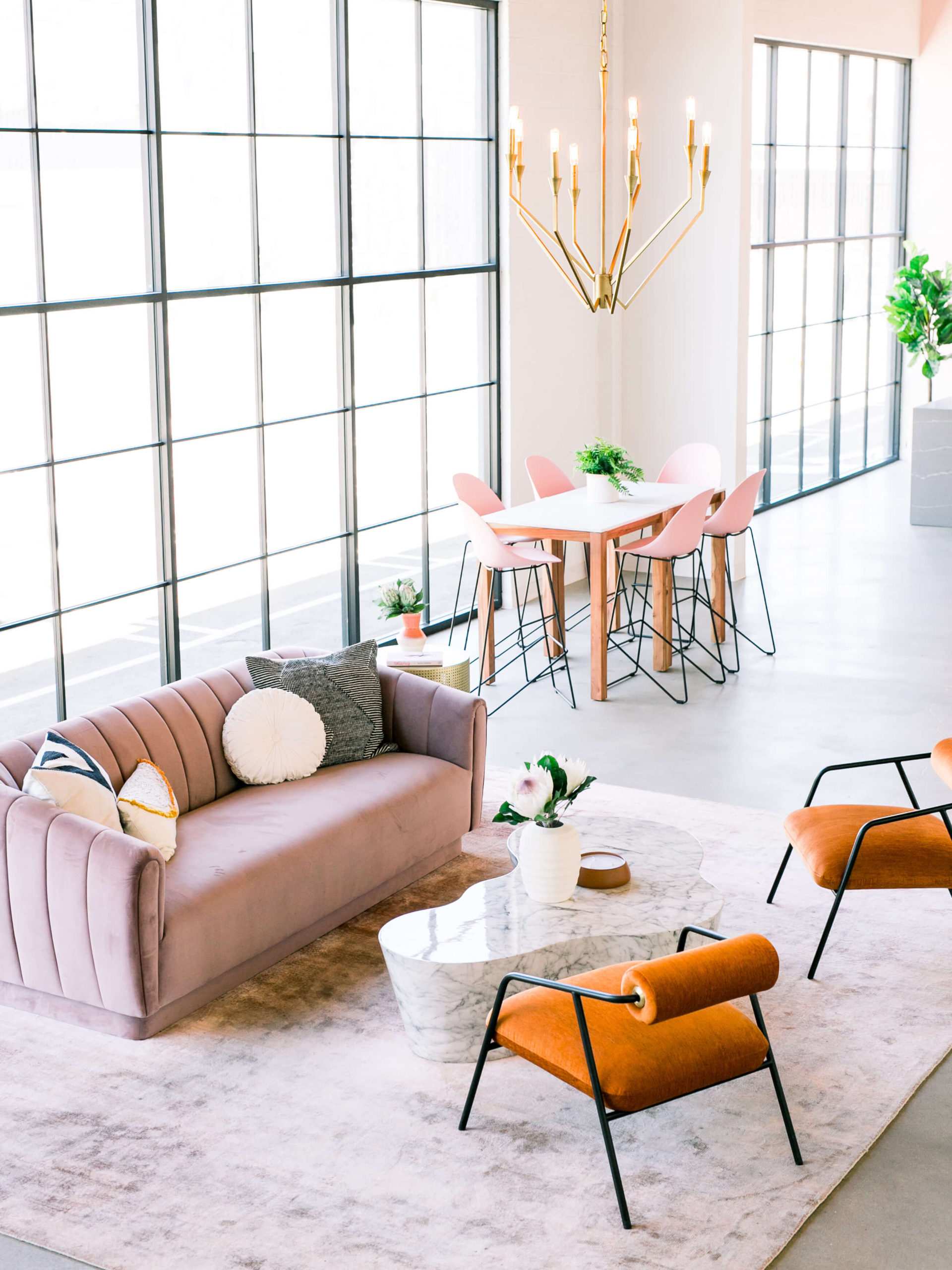 Create Cultivate Office young modern design by Ginny Macdonald Design